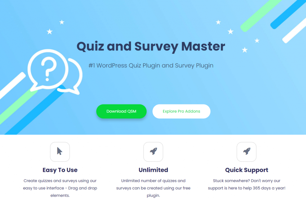 7 Essential WordPress Plugins From 2020 That Echo Into 2021 - Quiz and Survey Master