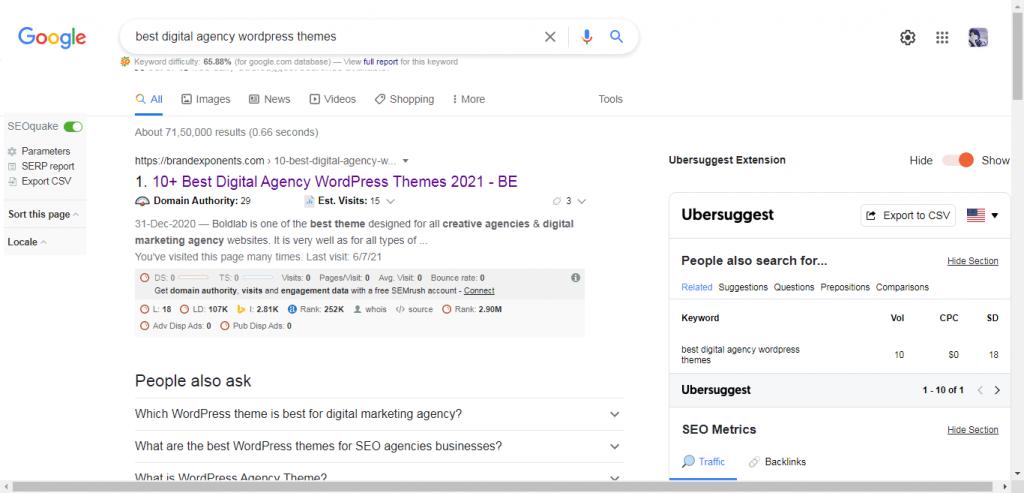 rank higher on Google in 2021