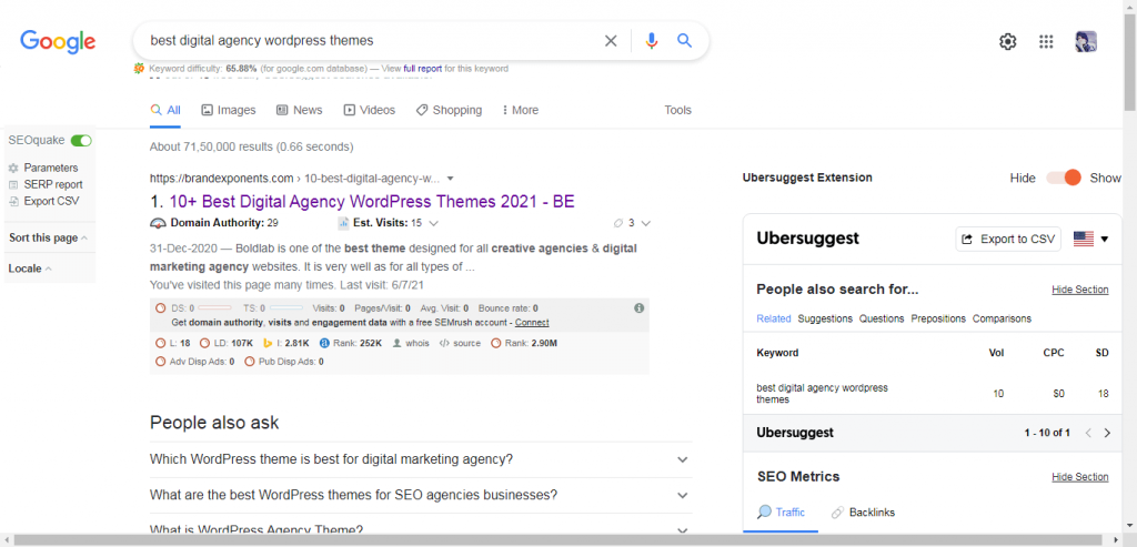 optimization to rank higher on top page of Google
