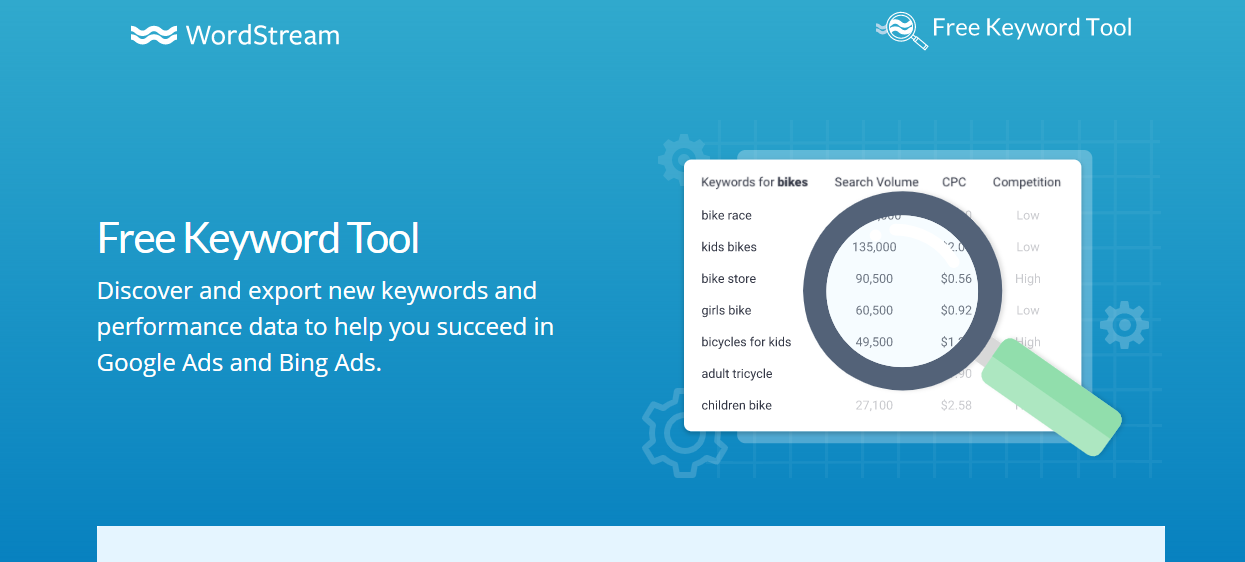 Free Tools for Keyword Research - Word Stream